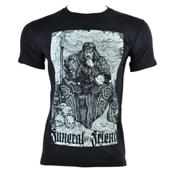 Funeral For A Friend Castles T Shirt (Black)