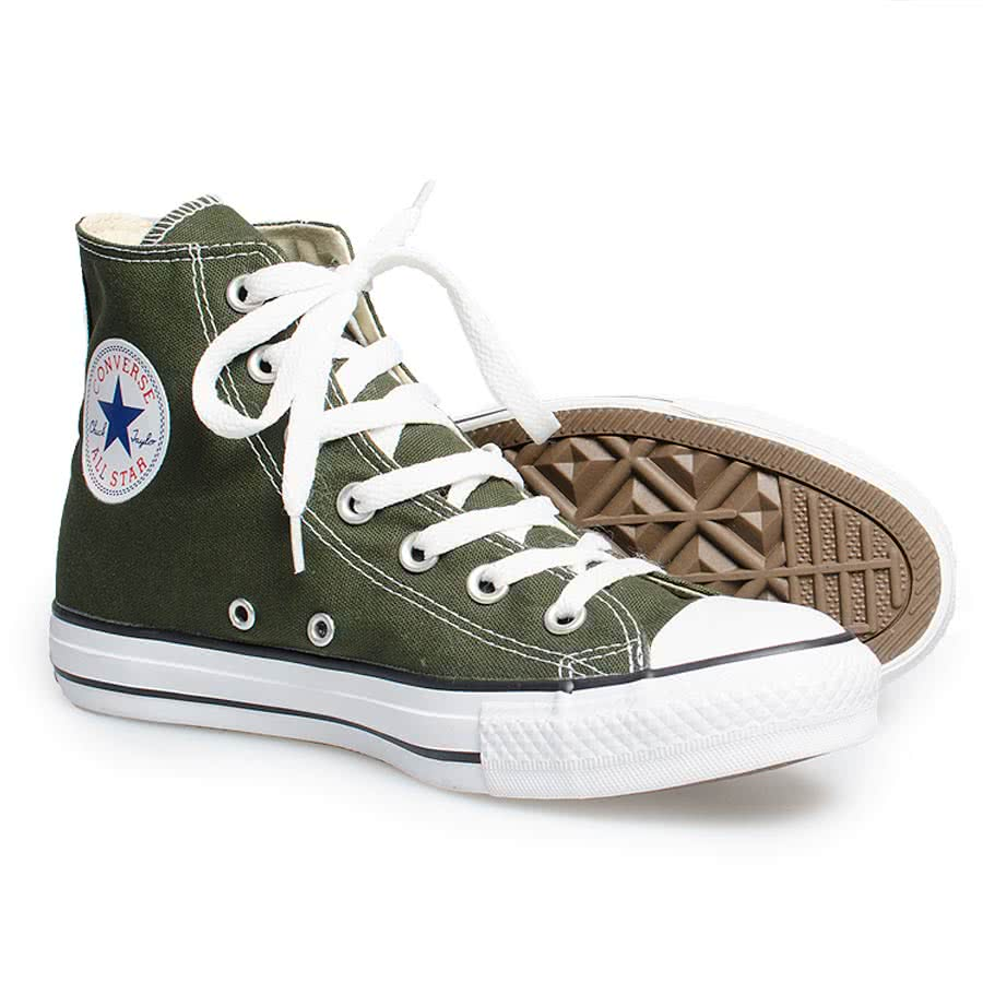 Converse All Stars Kombu Boots (Green)
