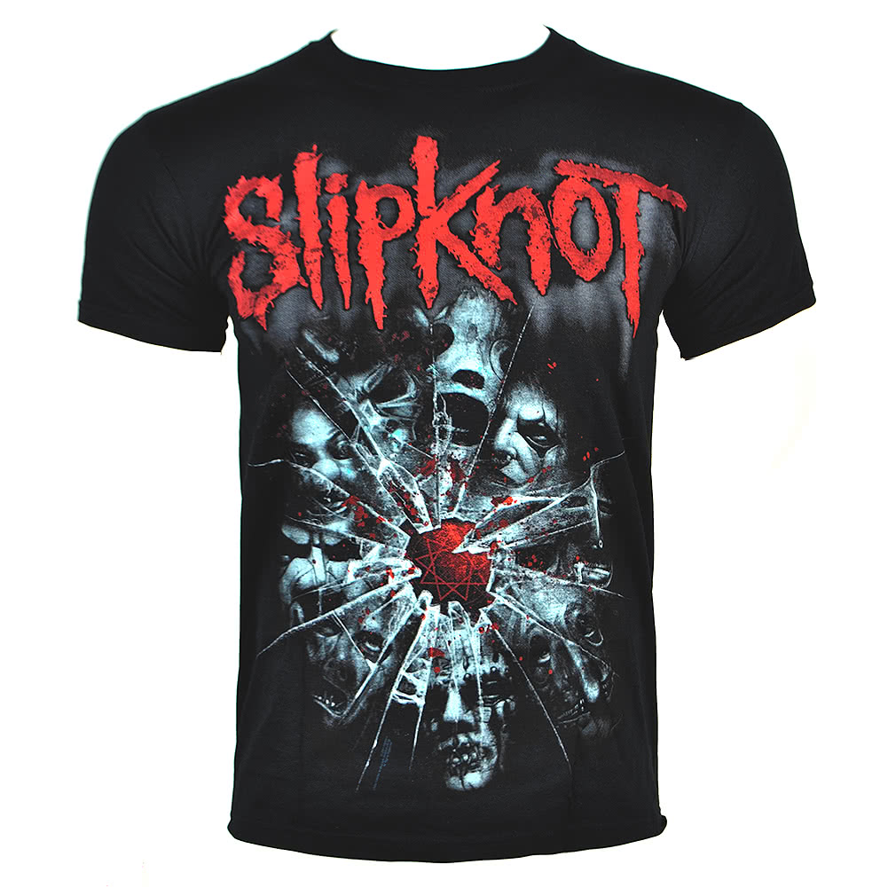 Slipknot Shattered T Shirt (Black)