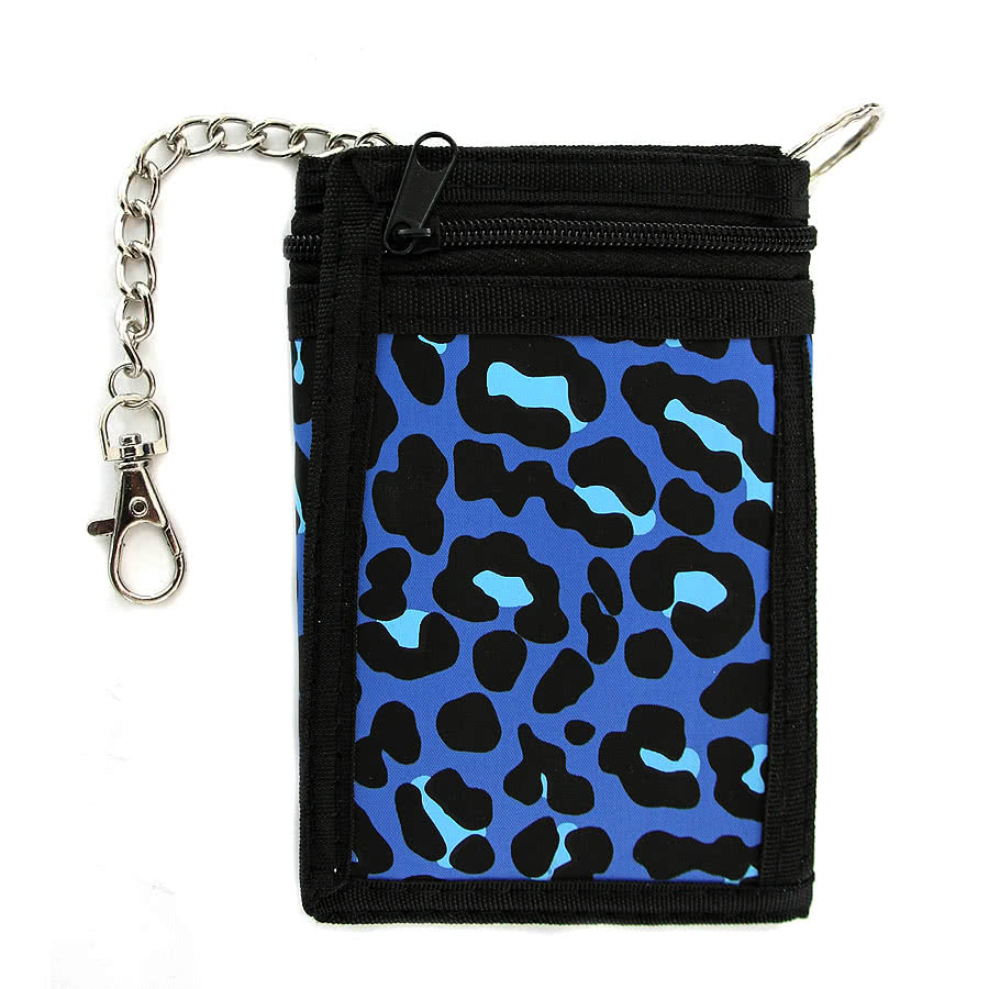 Blue Banana Leopard Wallet (Purple)