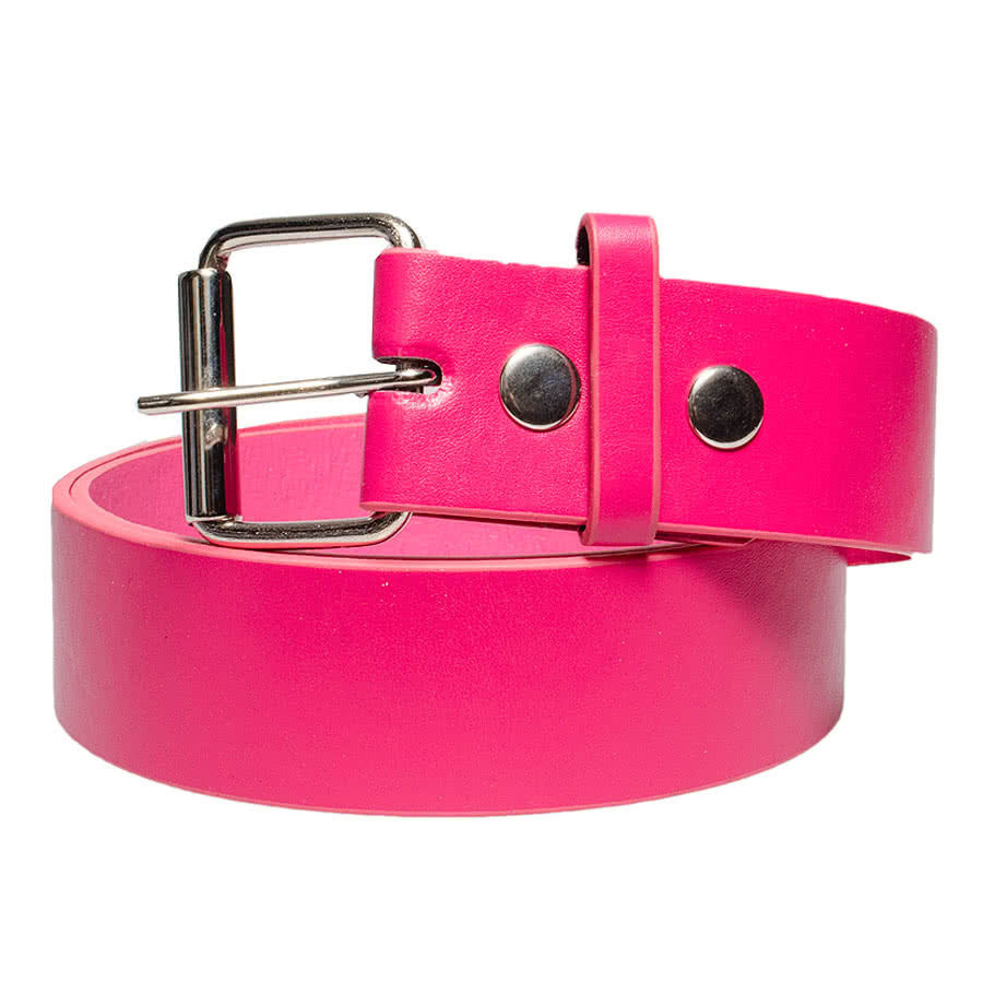 Blue Banana Buckle Change Belt (Pink)