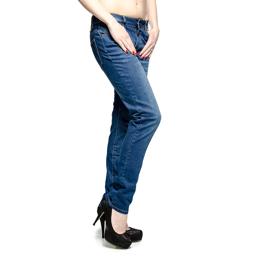 Bleeding Heart Skinny Fit Jeans (Indigo)