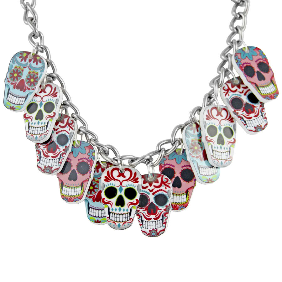 Extreme Largeness Skull Charm Necklace