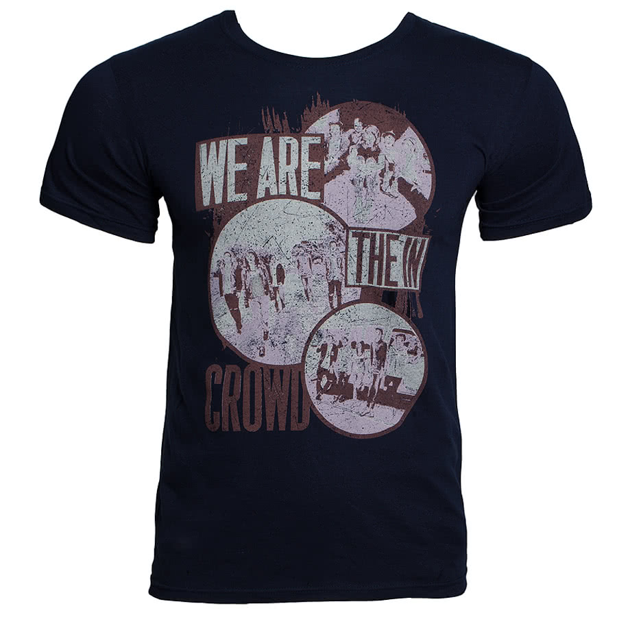 We Are The In Crowd Circle T Shirt (Blue)