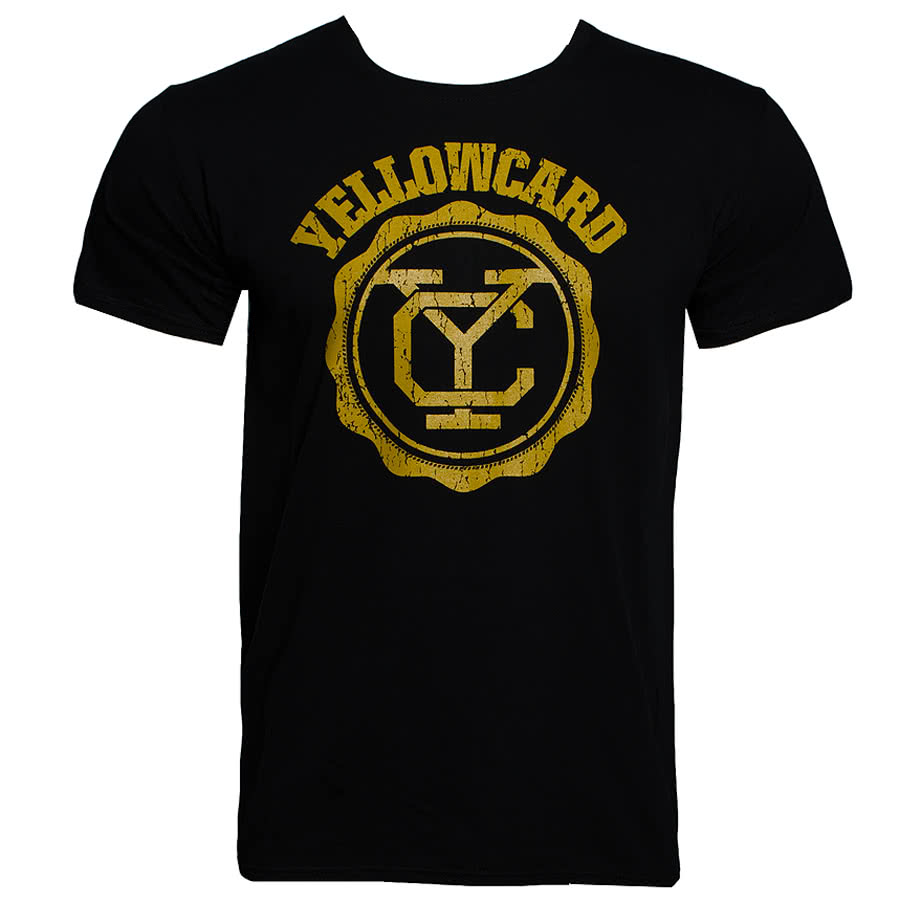 Yellowcard T Shirt (Black)