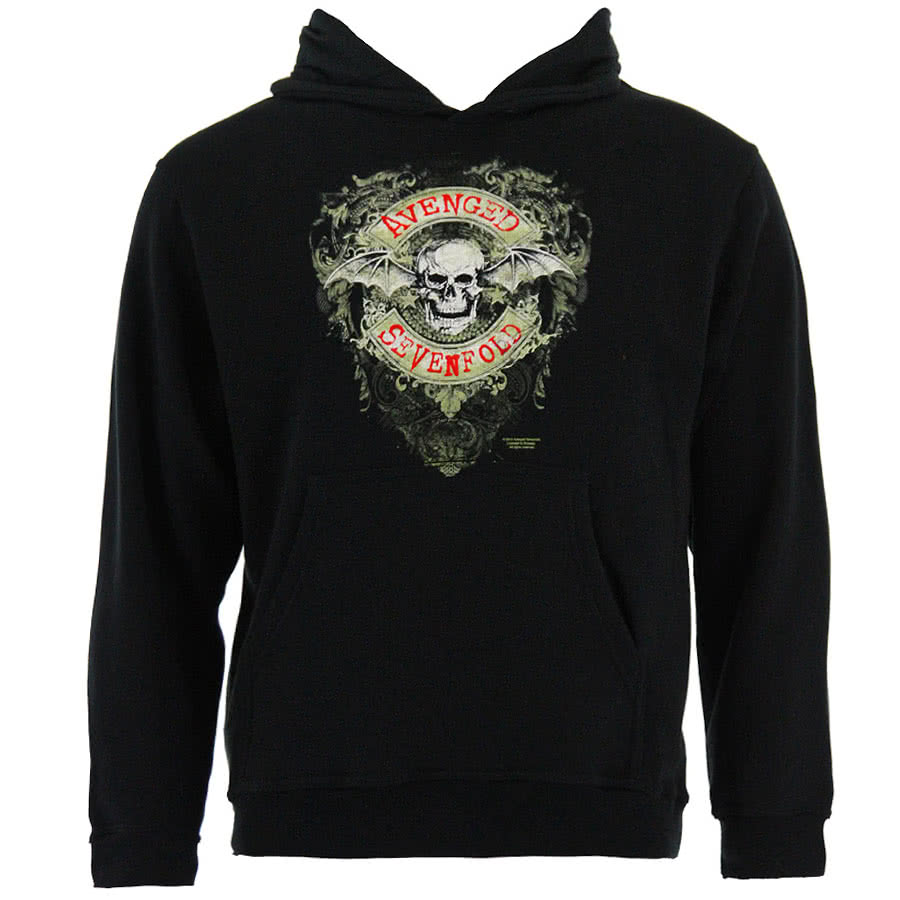 Avenged Sevenfold Currency Hoodie (Black)