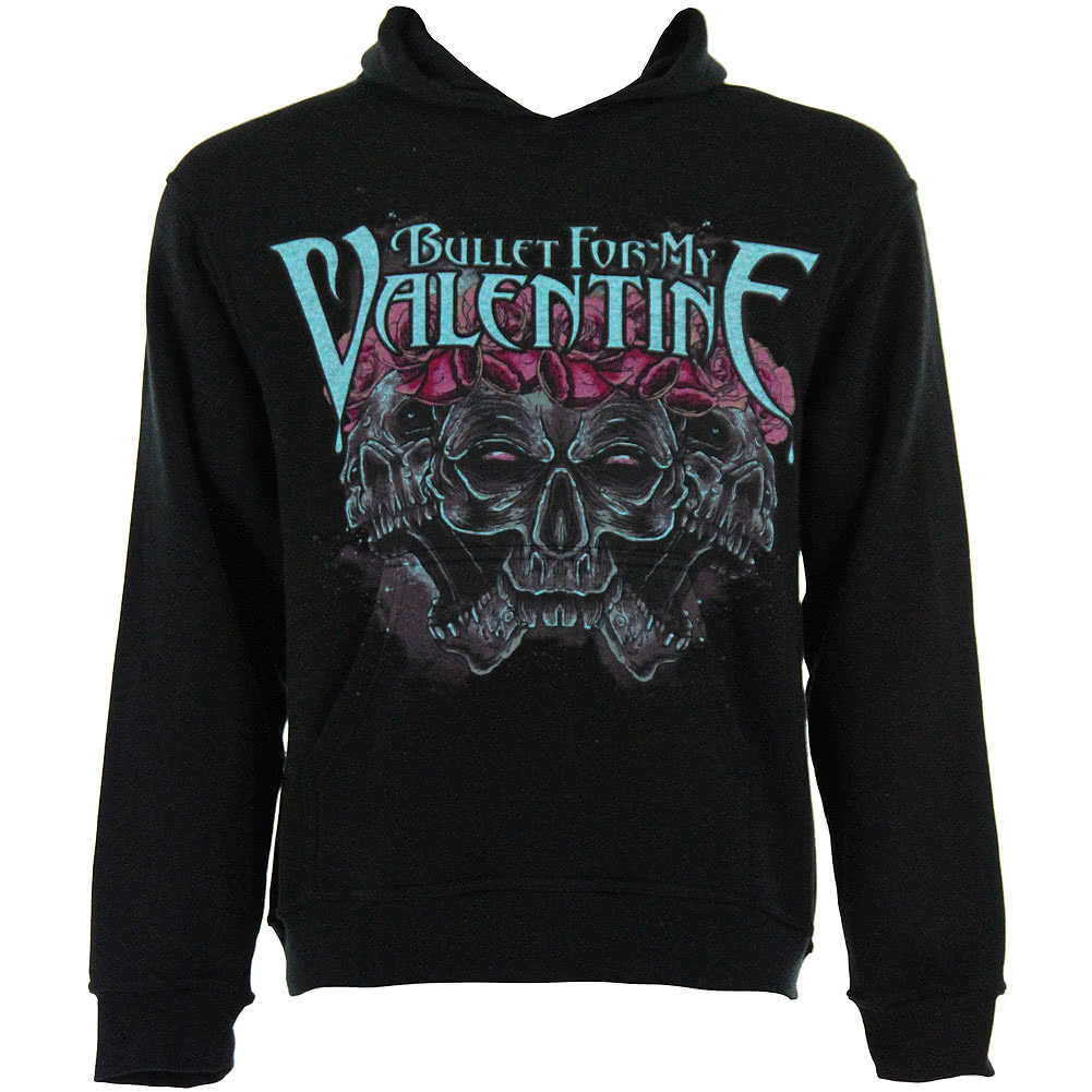Bullet For My Valentine Crown Of Roses Hoodie (Black)