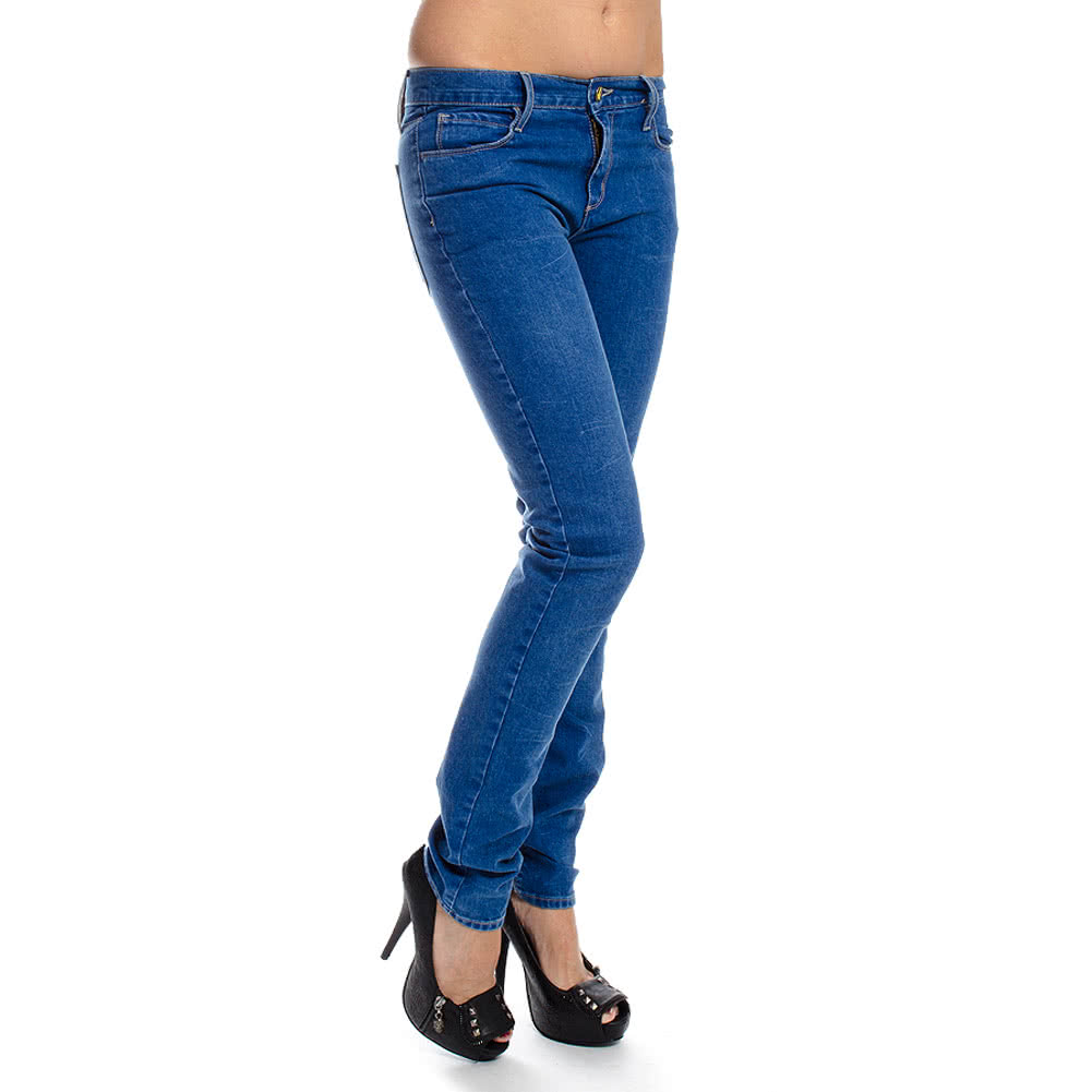 Monkee Genes Classic Skinny Fit Jeans (Pure Blue Ska)