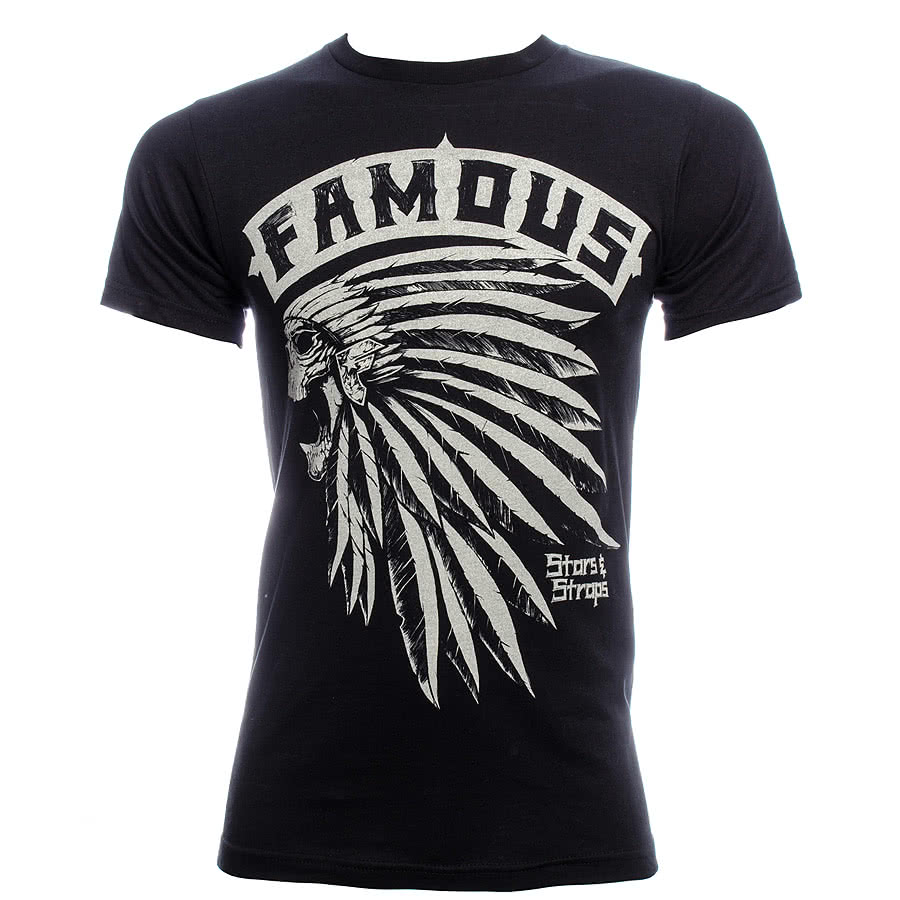 Famous Stars and Straps Native T Shirt (Black)