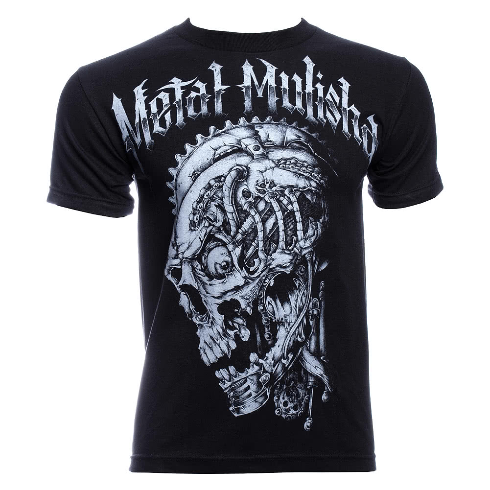 Metal Mulisha Scrapped T Shirt (Black)