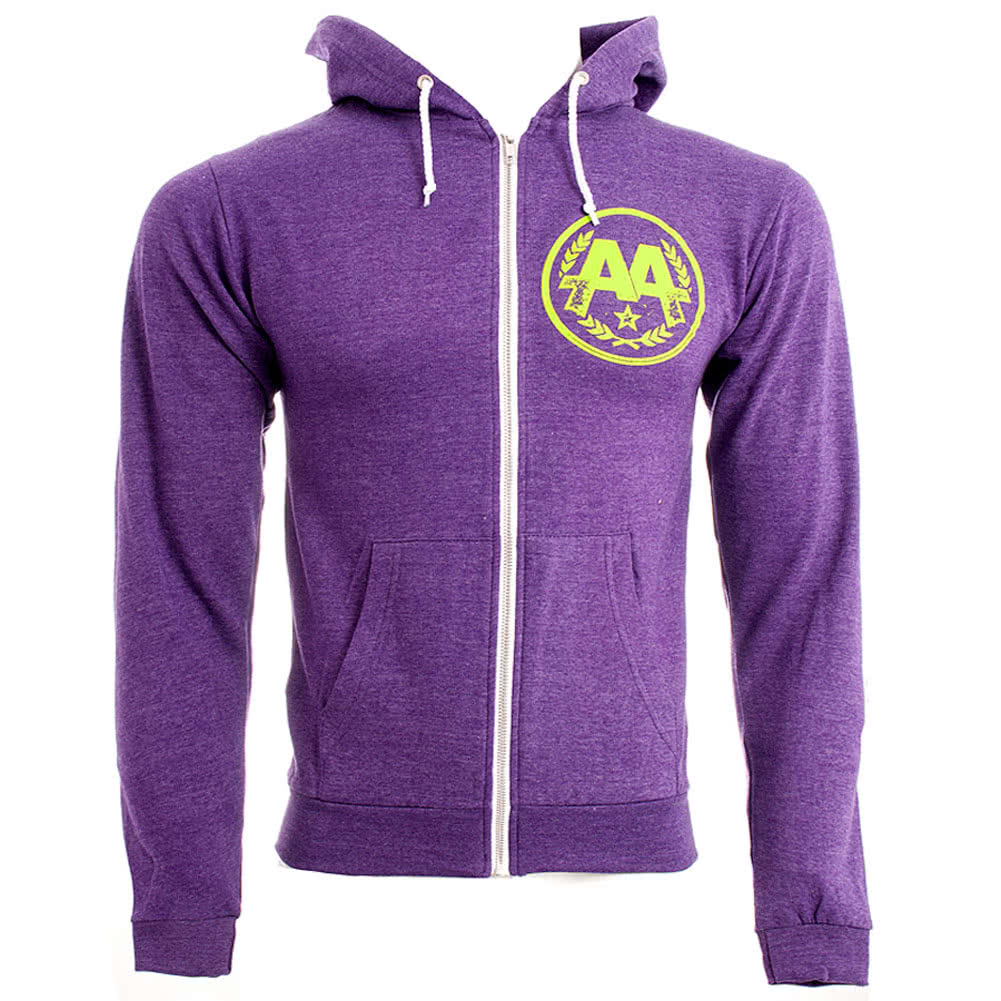 Asking Alexandria Eyeballs Hoodie (Purple)