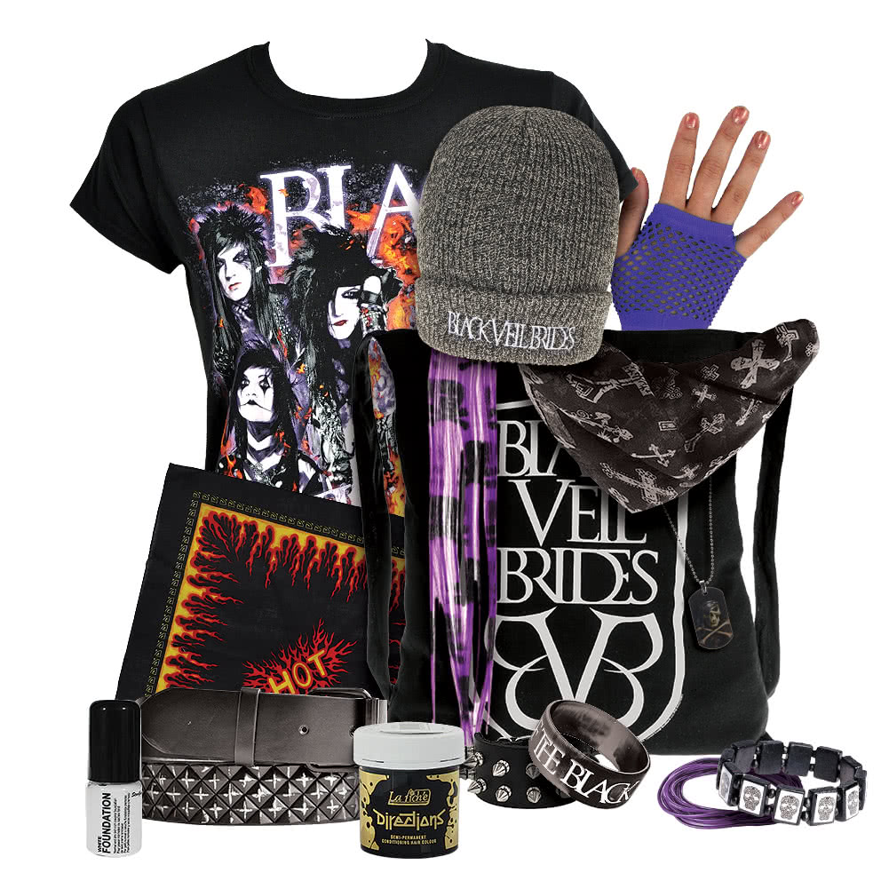 EXCLUSIVE Black Veil Brides Fan Package (Womens)