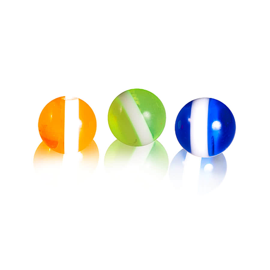 Blue Banana Set of 3 Add on Balls (Blue/Green/Orange)