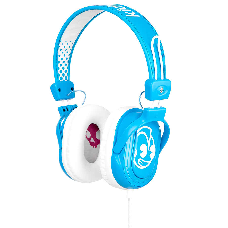 Skullcandy Kid Robot Agent Headphones (Blue)