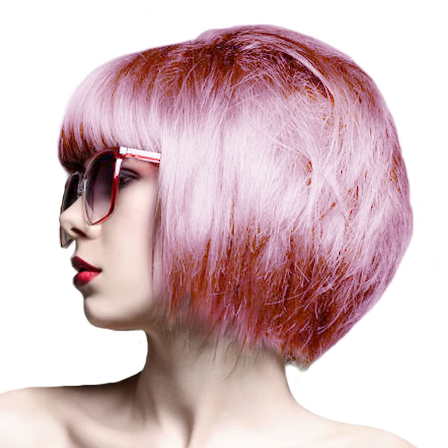 Crazy Color Semi-Permanent Hair Dye 100ml (Candy Floss Pink)