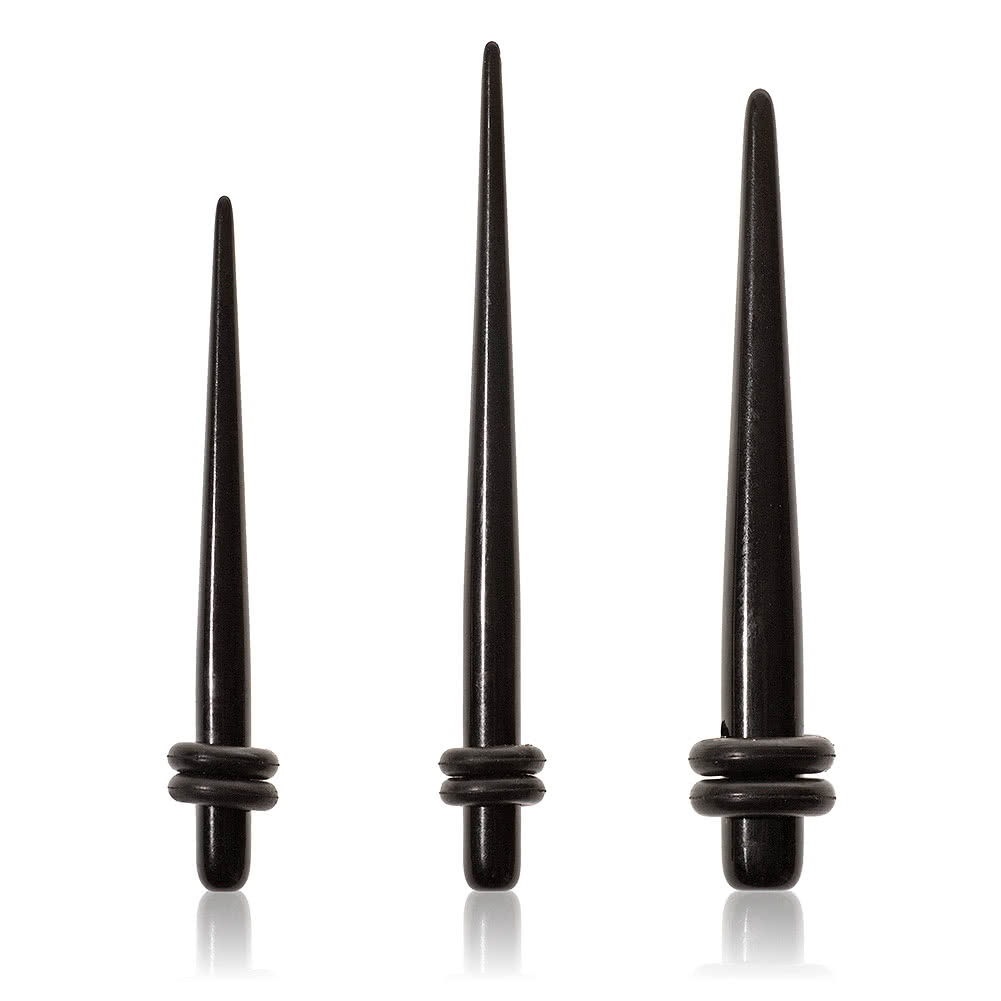 Blue Banana Black Stretcher Kit (2mm, 3mm & 4mm) (Black)