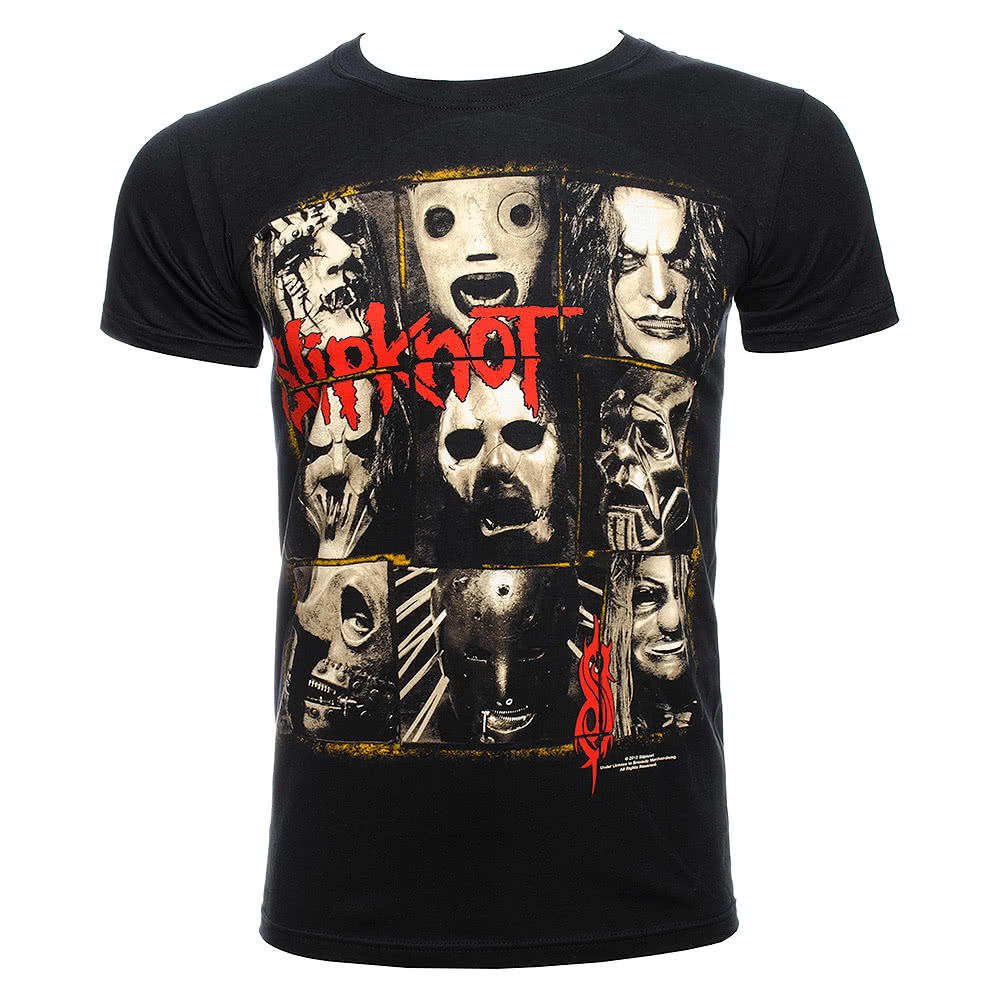 Slipknot Mezzotint Decay T Shirt (Black)
