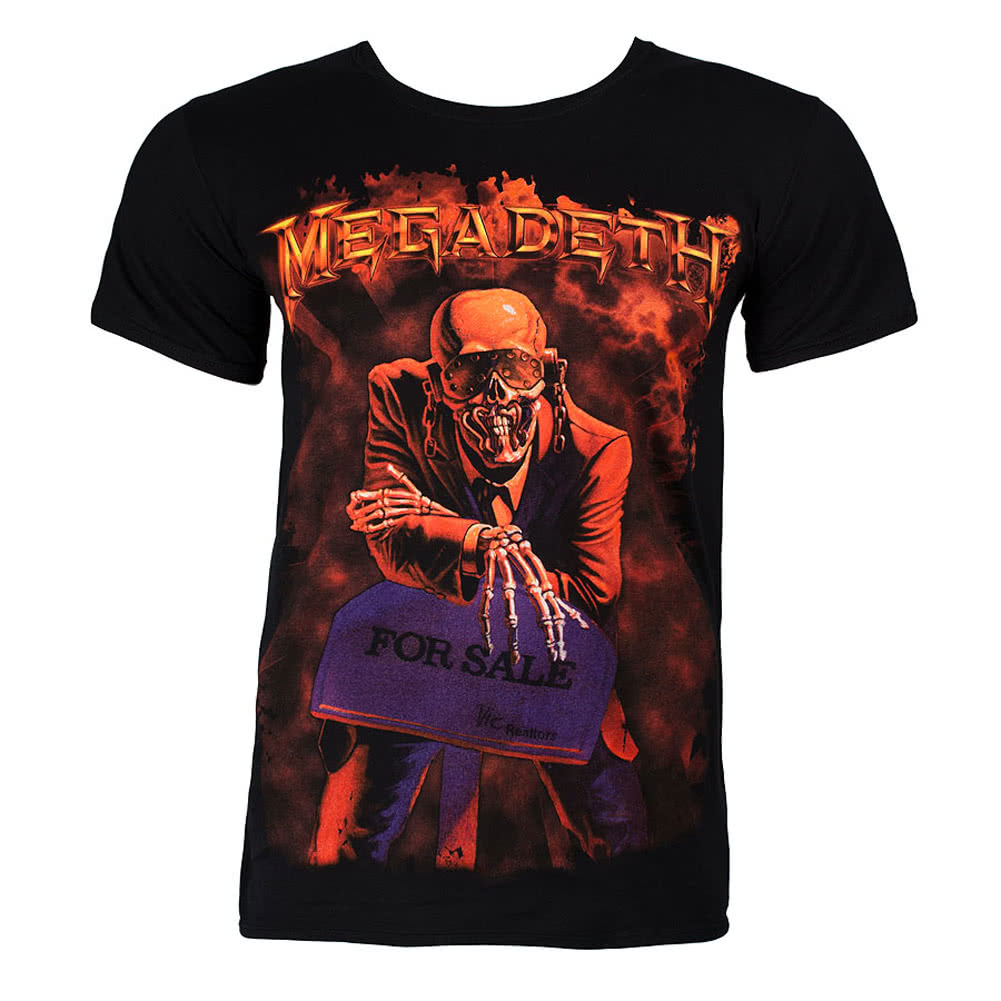 Megadeth Peace Sells T Shirt (Black)