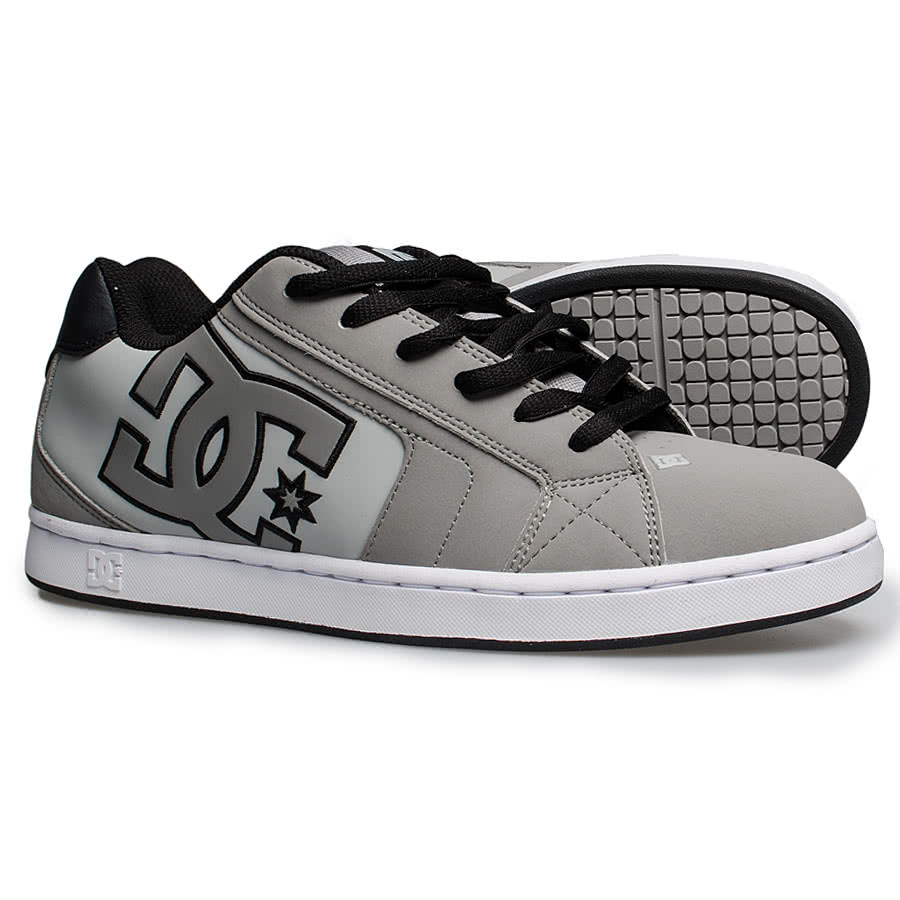 DC Shoes Net Trainers (Grey)
