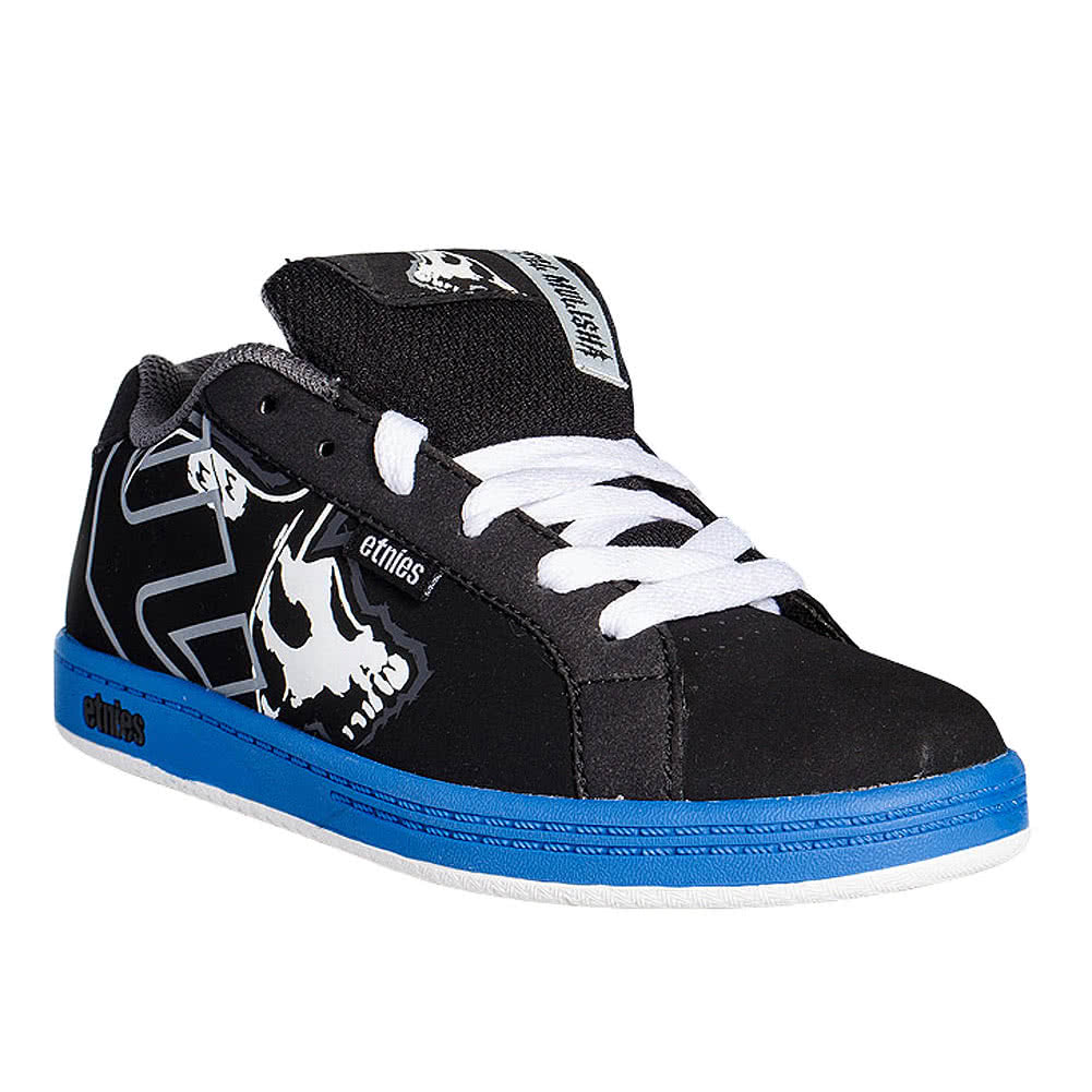 Etnies Kids Fader Metal Mulisha Trainers (Black)