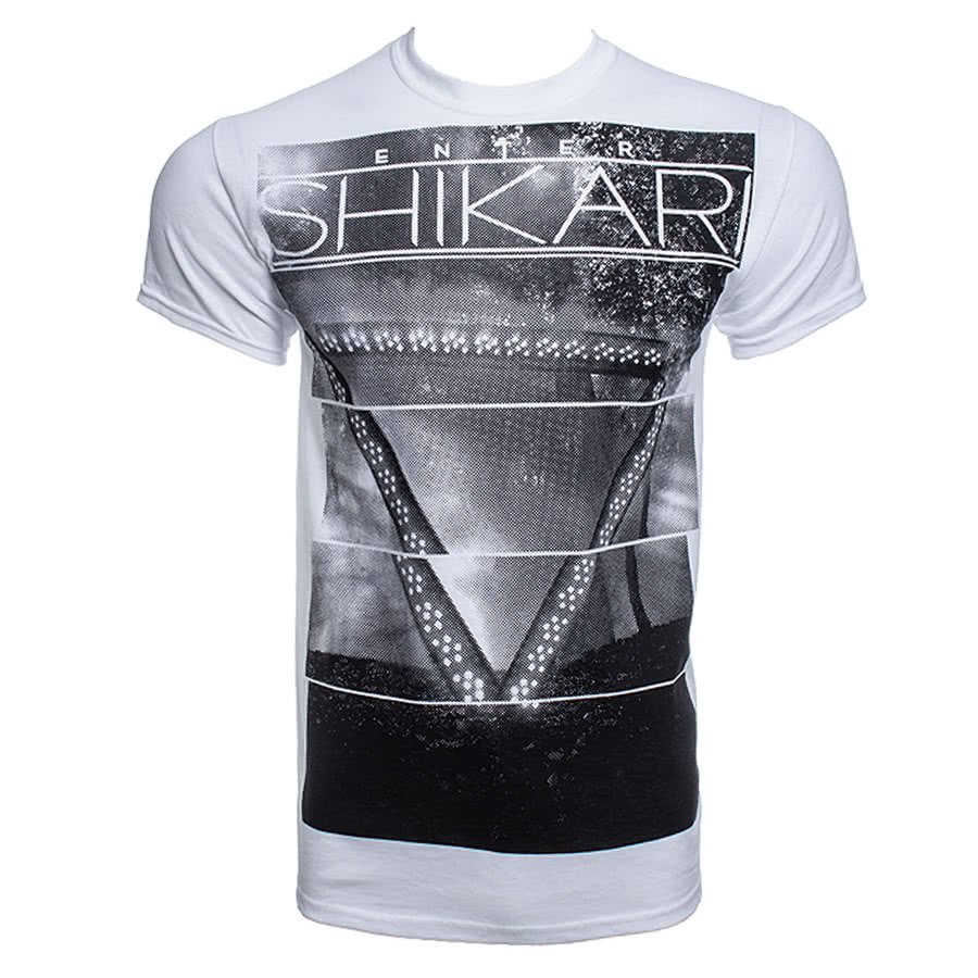 Enter Shikari Album T Shirt (White)
