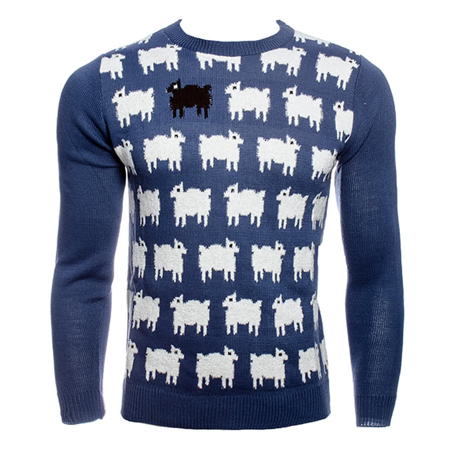 Run & Fly Sheep Jumper (Blue)