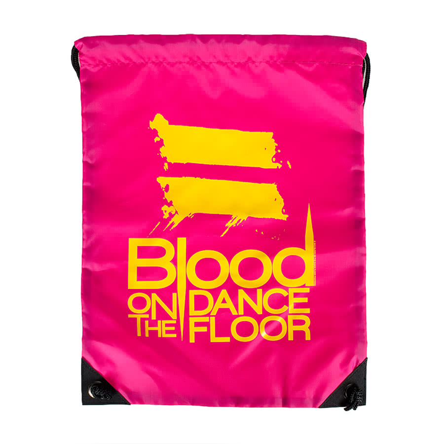 Blood On The Dance Floor Gym Bag (Pink)