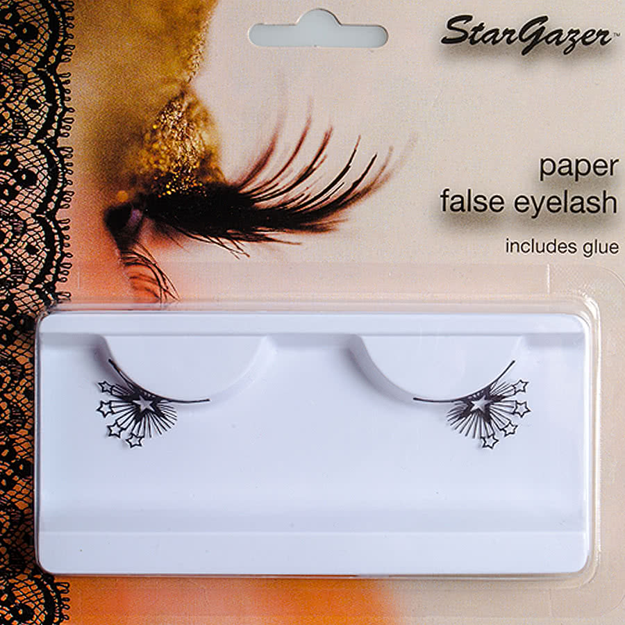 Stargazer Stars False Eyelashes (Black)