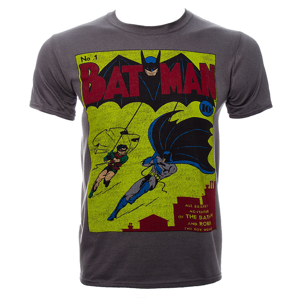 DC Comics Batman Issue One T Shirt (Grey)