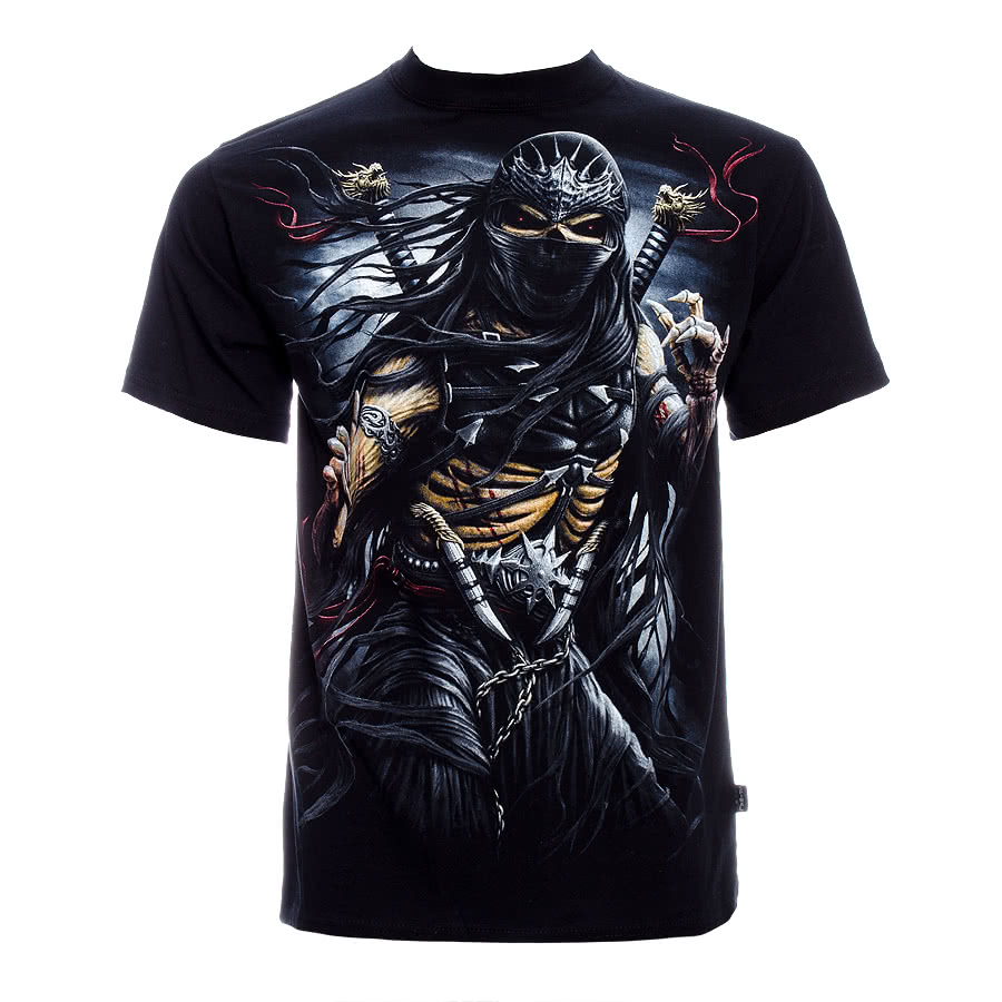 Spiral Direct Ninja Assassin T Shirt (Black)