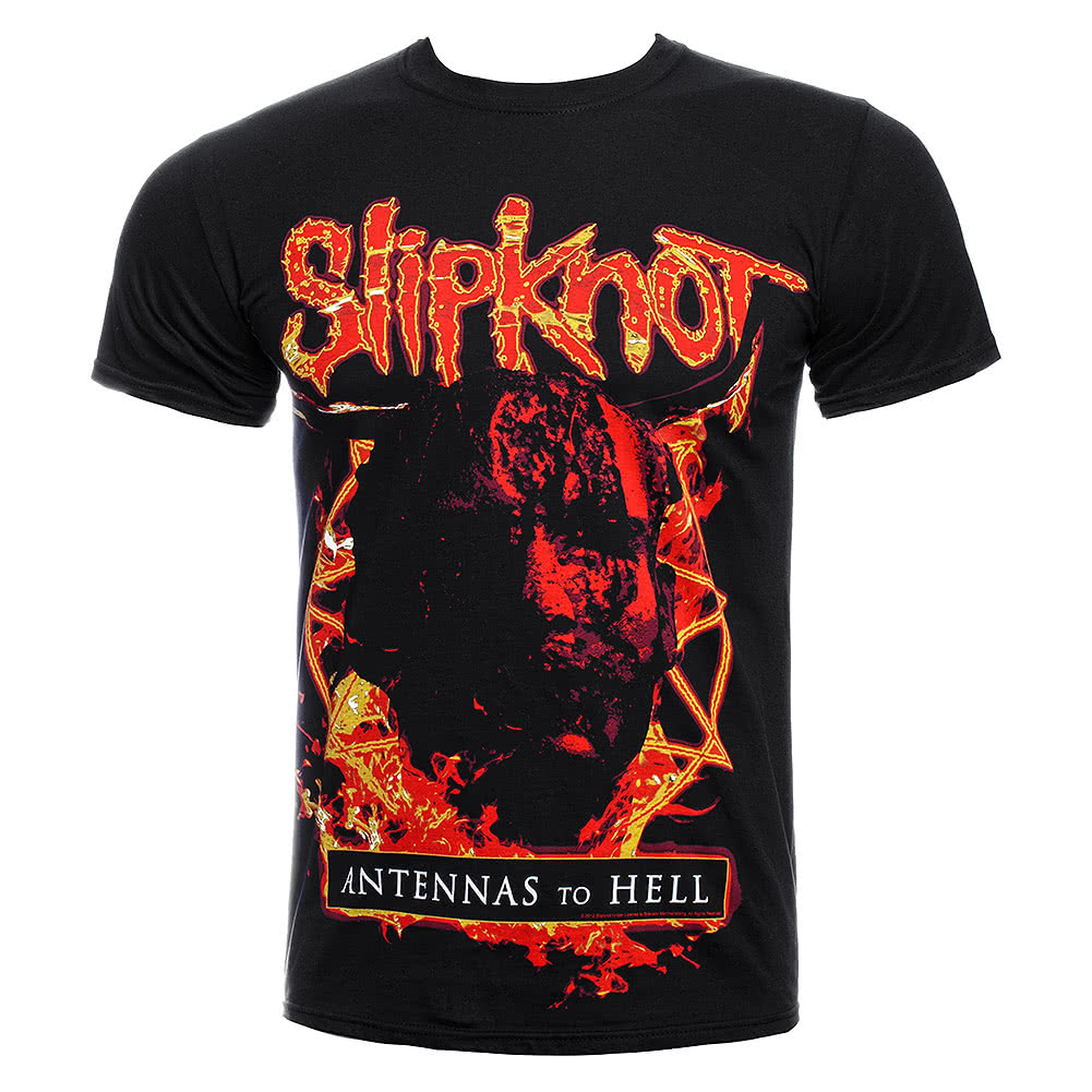 Slipknot Antennas To Hell T Shirt (Black) | Blue Banana UK