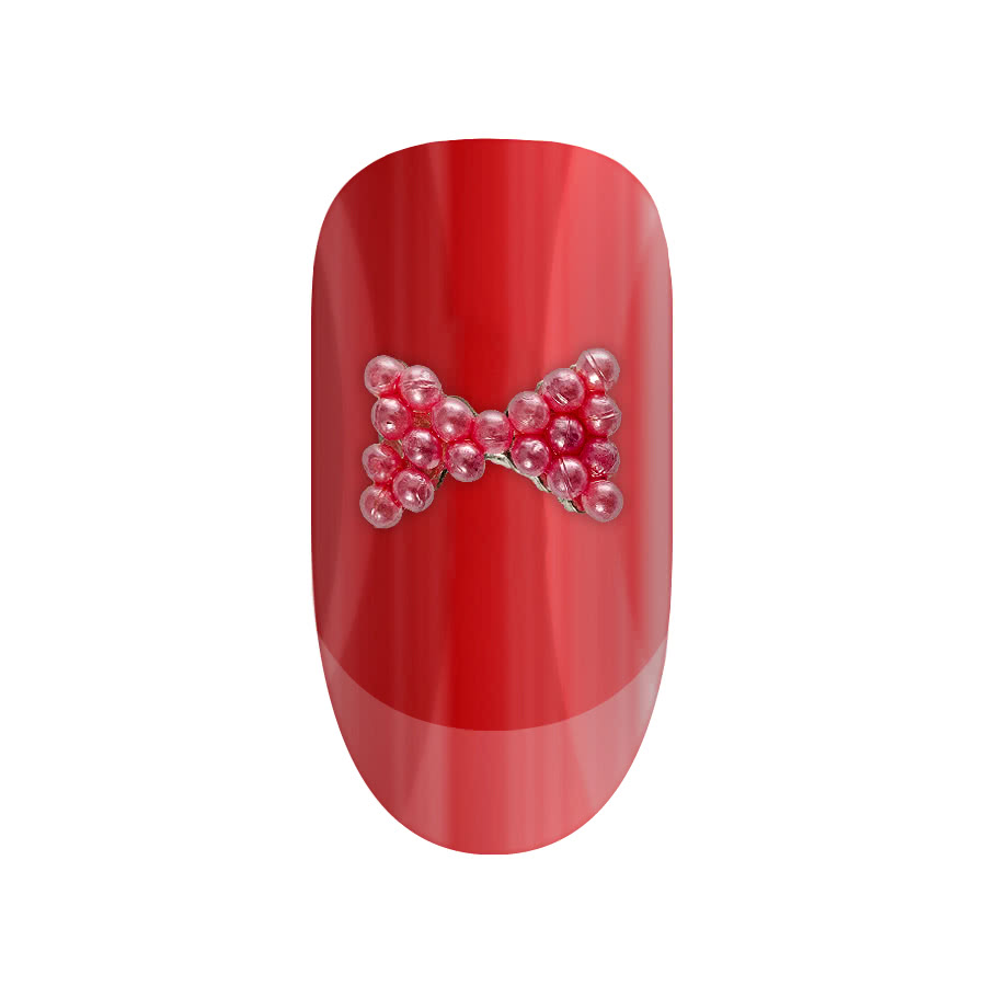Blue Banana Nail Art 2PK Bow (Pink)