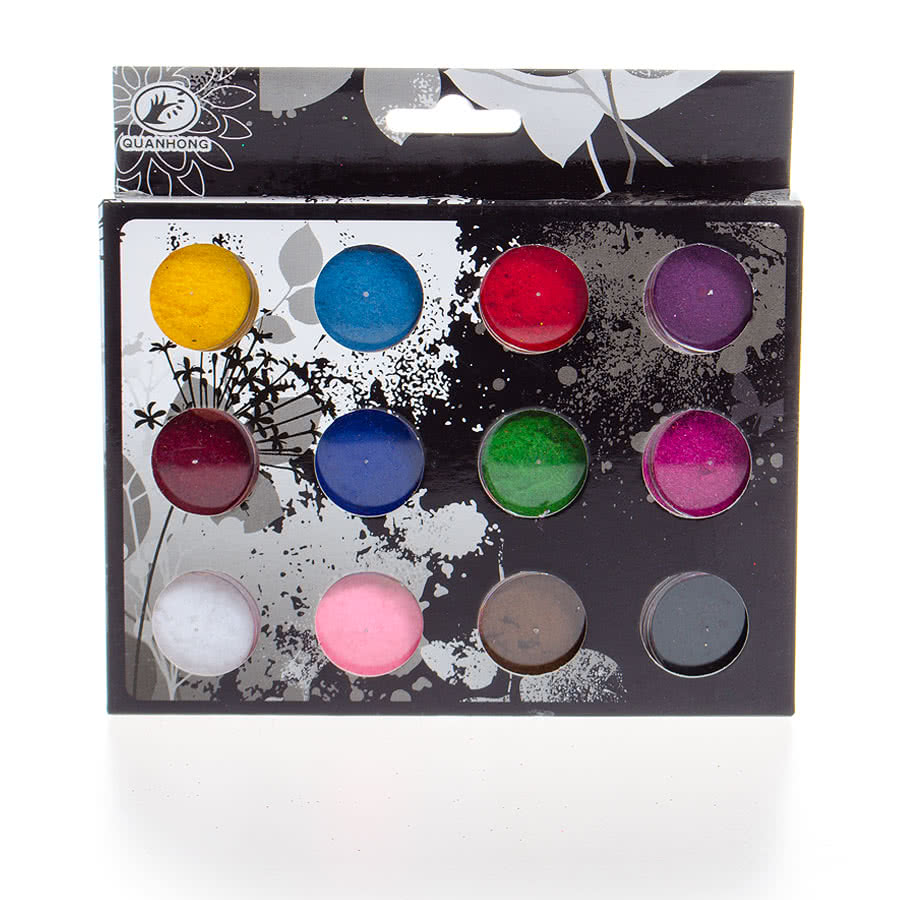 Blue Banana 12PC Nail Powder Kit