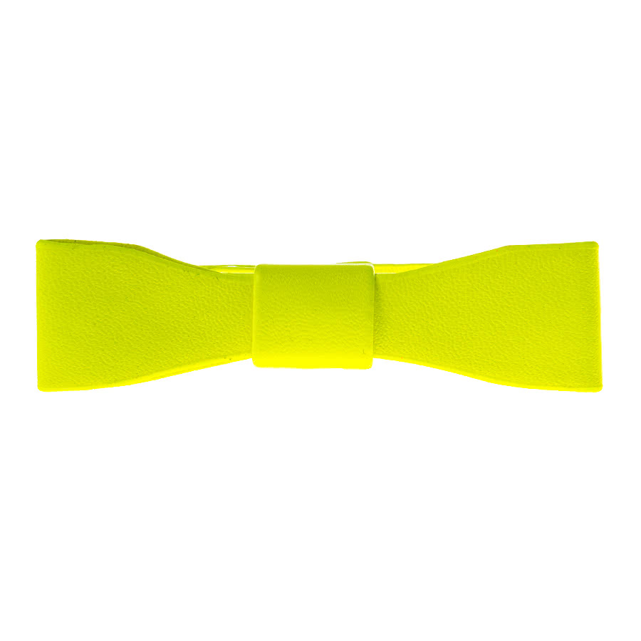 Blue Banana Bow Bracelet (Yellow)
