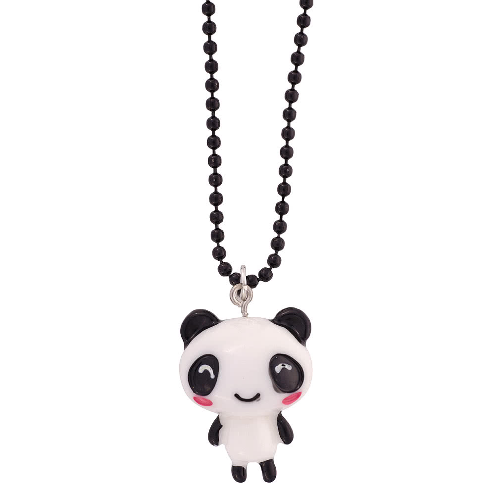 Blue Banana Panda Necklace (Small)