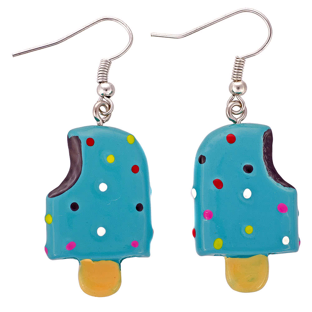 Blue Banana Lolly Earrings (Blue)