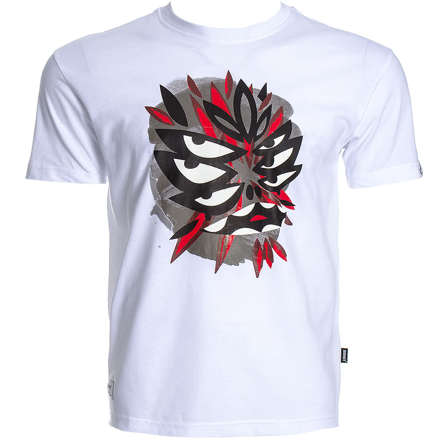Addict Mysterious Al Mask 1 T Shirt (White)