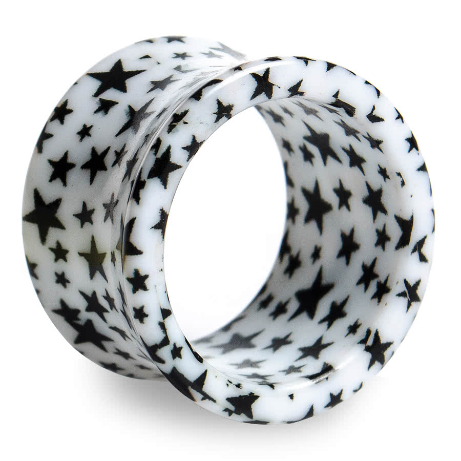 Blue Banana Black Star Tunnel (White)