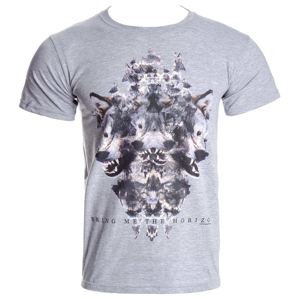 Bring Me The Horizon Wolven T Shirt (Grey)