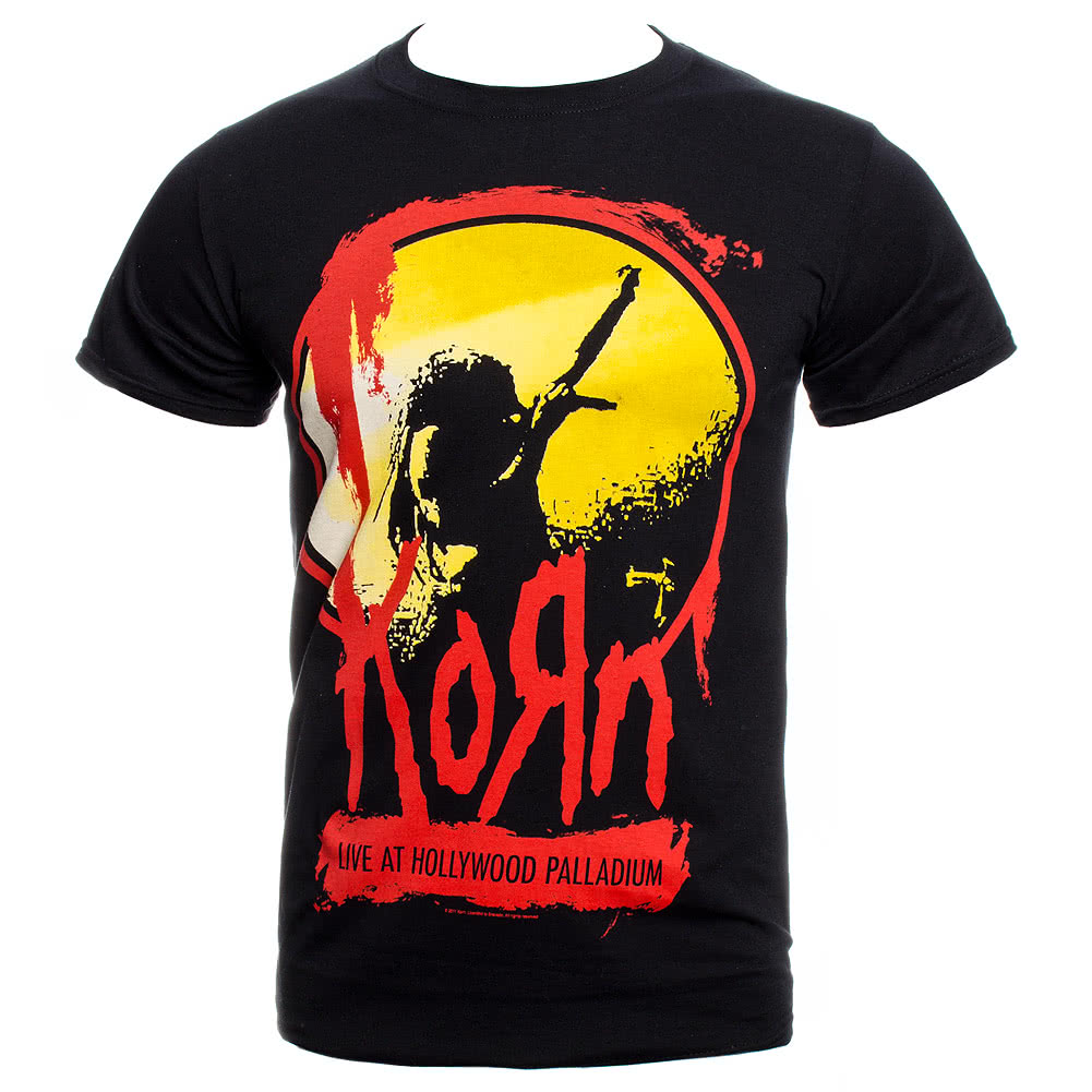 Korn Stage T Shirt (Black)