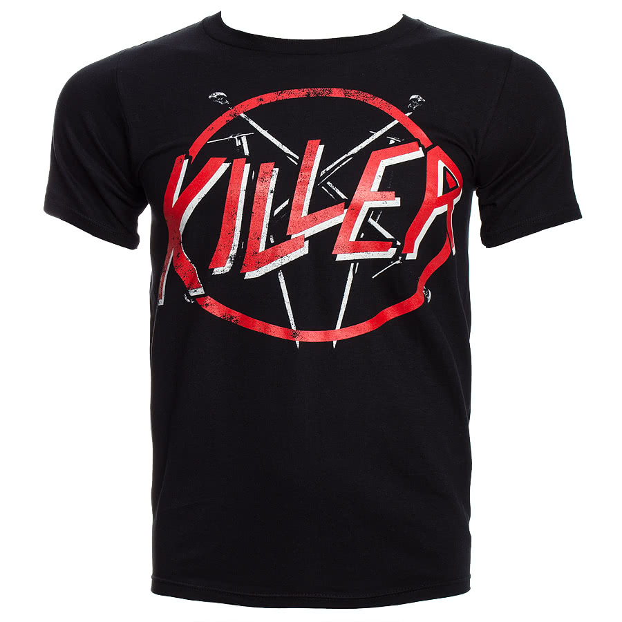 Kill Brand Kill Sprayer Crest T Shirt (Black)