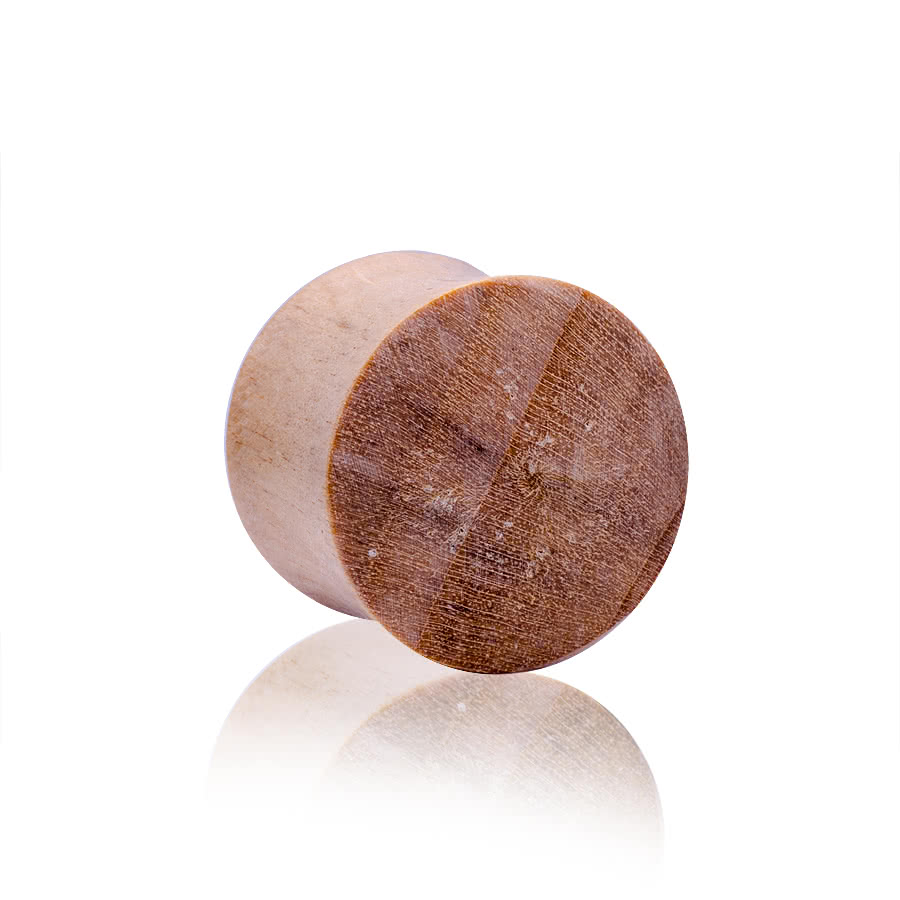 Blue Banana Pale Wood Plug 16-25 mm (Brown)