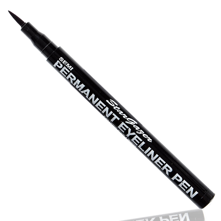 stargazer semi permanent eyeliner pen black blue banana uk