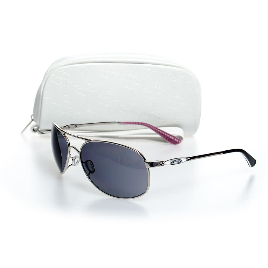 Oakley Given Sunglasses (Polished Chrome/Grey)