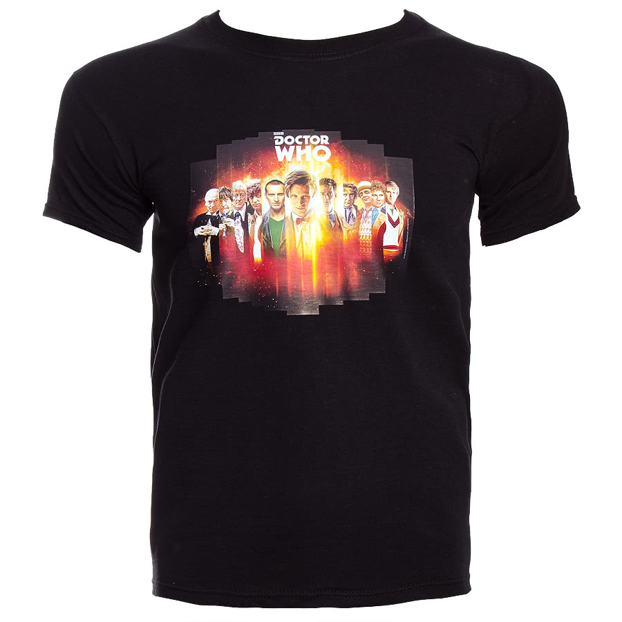Doctor Who T Shirt (Black)