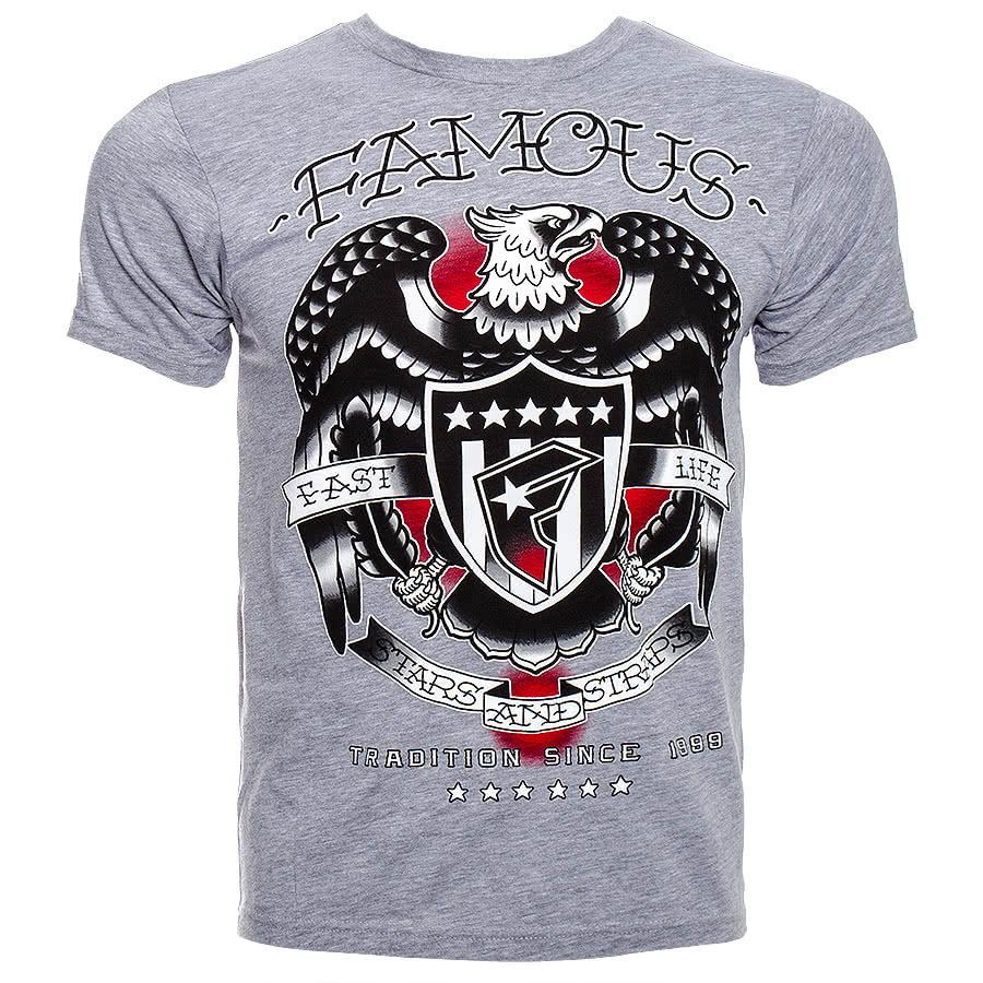 Famous Stars & Straps Tradition Since 99 T Shirt (Grey)