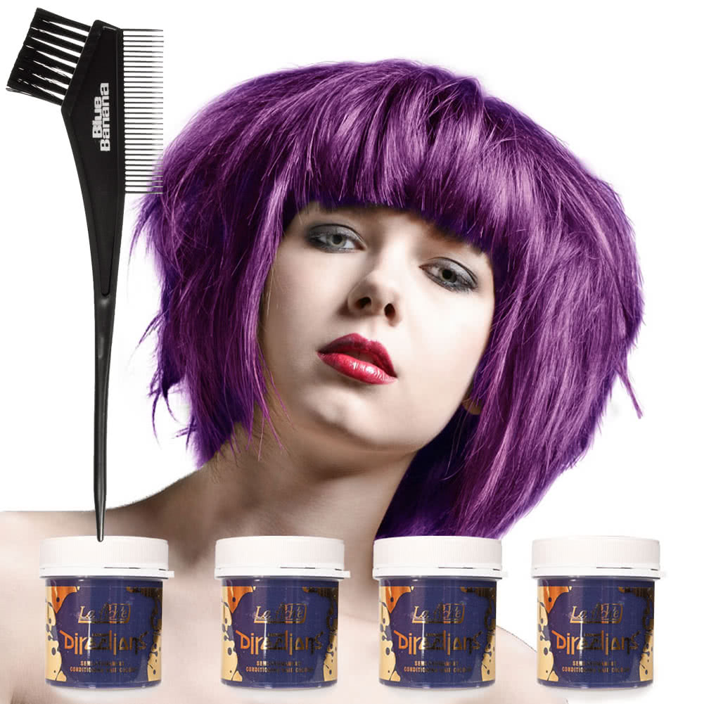 La Riche Directions Hair Dye 4 Pack (Violet)