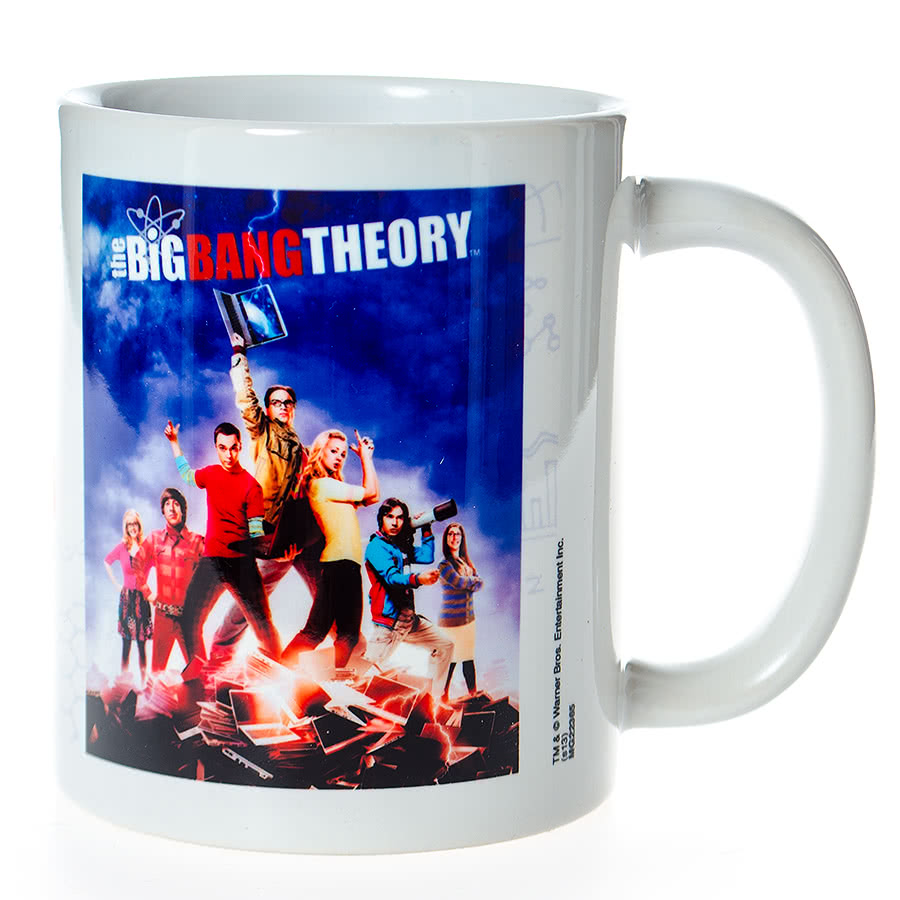 The Big Bang Theory Laptop Mug (MultiColoured)