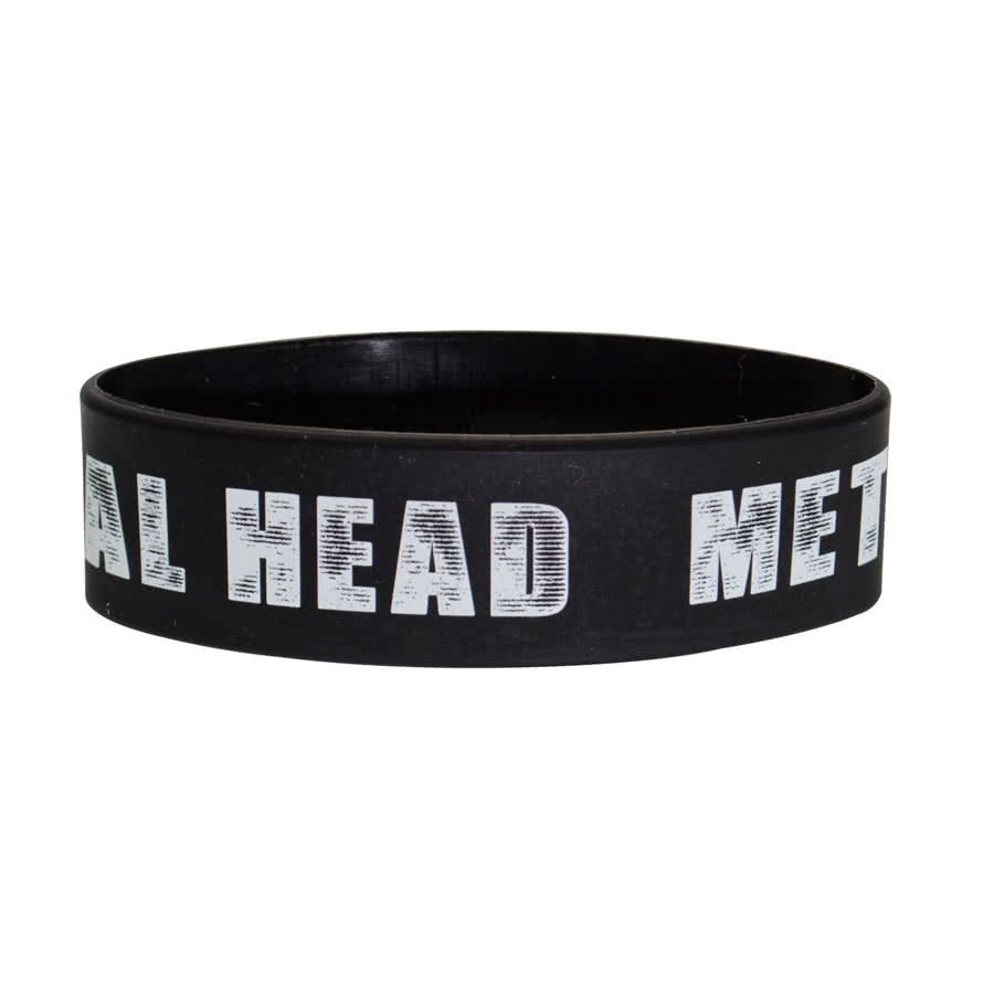 Blue Banana Metal Head Wristband (Black)