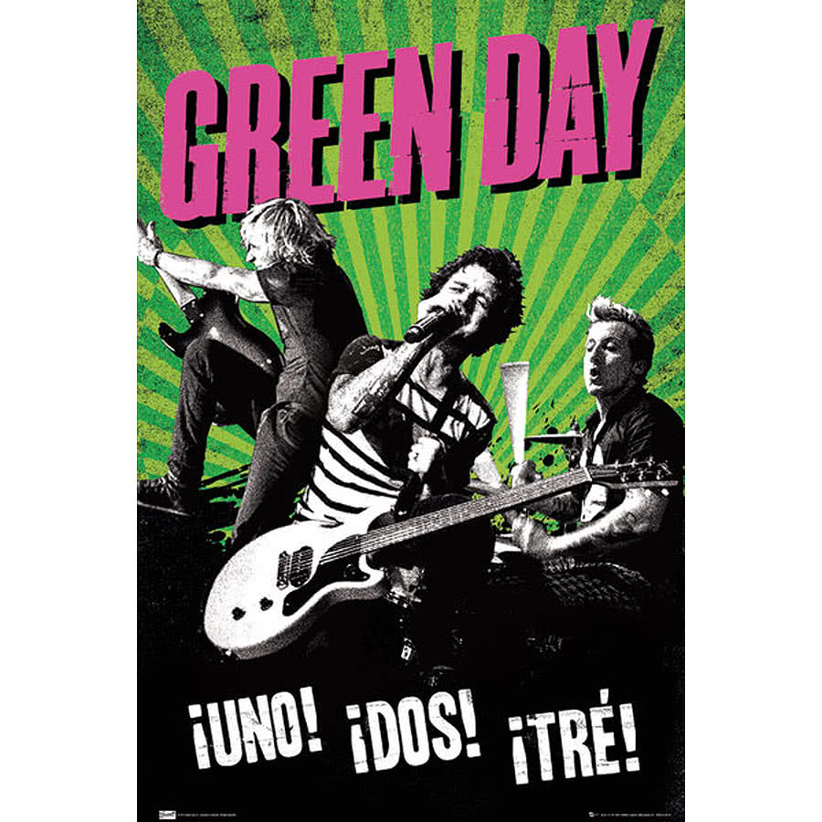 Green Day Tour Poster